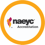 Accredited by NAEYC's National Academy of Early Childhood Programs